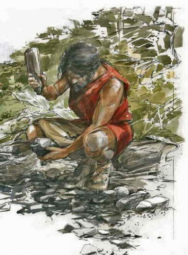 tailleur neolithique
