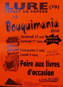 Bouquimania 2014