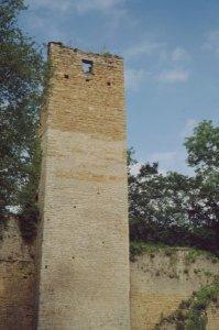 Le donjon d'Oricourt