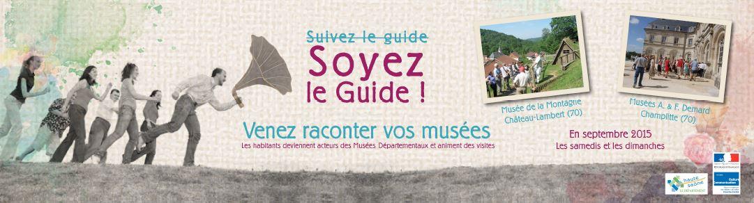 Soyons les guides des musées !