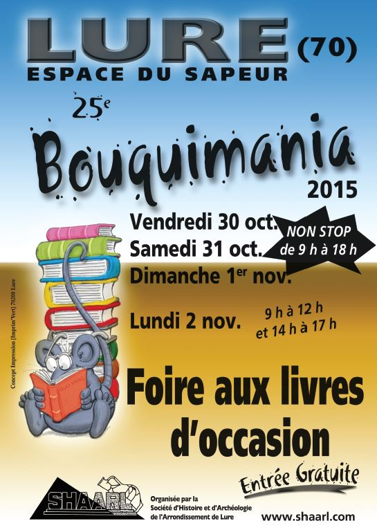Bouquimania 2015